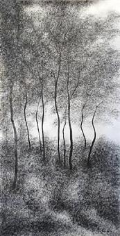 bach dan trees by nguyen bach dan
