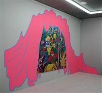 pink blubber by lily van der stokker