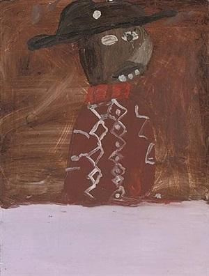 pink baffoon by chris ofili