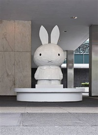 miffy fountain by tom sachs