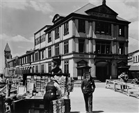 department of docks and police station by berenice abbott