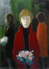 figure con fiori by eliano fantuzzi
