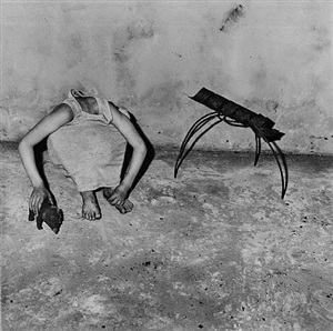 head inside shirt by roger ballen