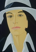ada in white hat by alex katz