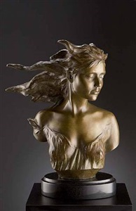the muses: dance (suite of four) by frederick hart