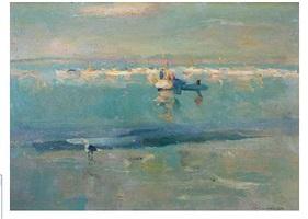 fisher fleet _ monterey by armin carl hansen