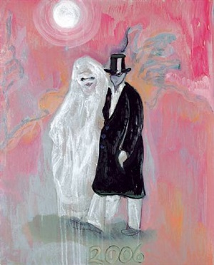 masqueraders by peter doig