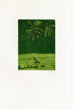 pelican by peter doig