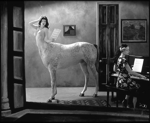 night in a small town by joel-peter witkin