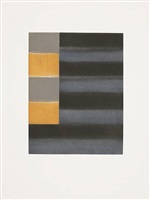 'enter six' blatt 5 aus der serie von 6 by sean scully