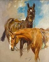 polo ponies by gilbert scott wright