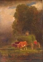 loading the hay by samuel lancaster gerry