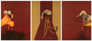 second version of triptych 1944 by francis bacon