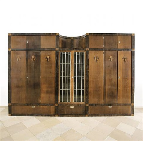 cupboard from the apartment magda mautner-markhof by josef hoffmann