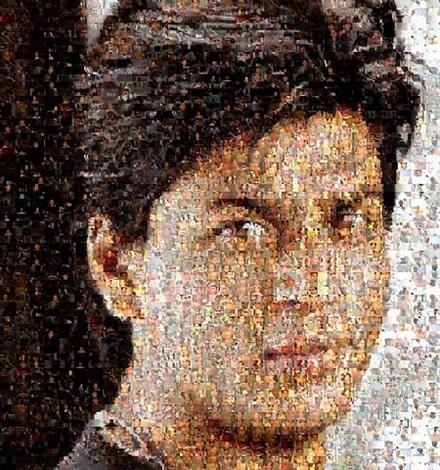 Ommatidia III Shah Rukh Khan by Rashid Rana on artnet