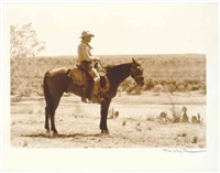 gus on horse by rio grande, from <i>lonesome dove</i> miniseries by bill wittliff