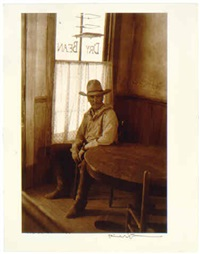 gus in the dry bean, from <i>lonesome dove</i> miniseries by bill wittliff
