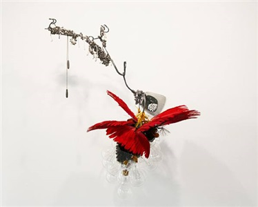 birds of appetite she who is exiled now hovering, circling by rina banerjee