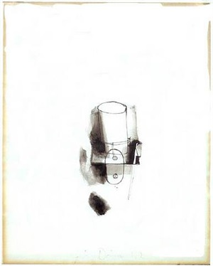 toothbrush and tumbler by jim dine