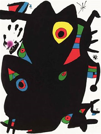 montroig 2 by joan miró