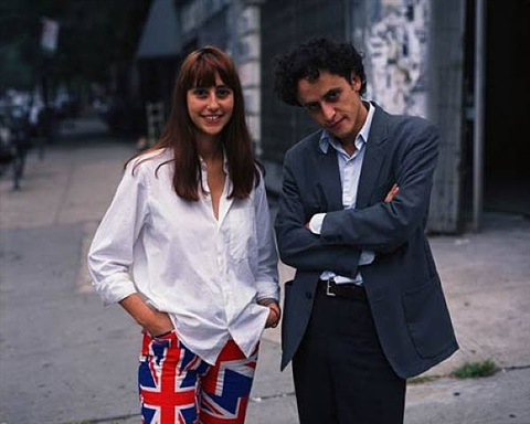 gabriel orozco and maria gutierrez, new york by thomas struth