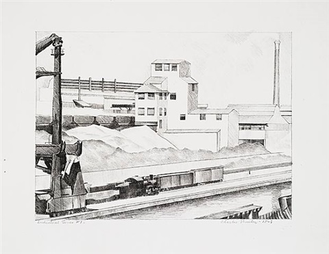 industrial series #1 by charles sheeler