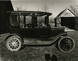 model t with california top by wright morris