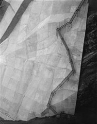 coolidge dam, san carlos, az by toshio shibata