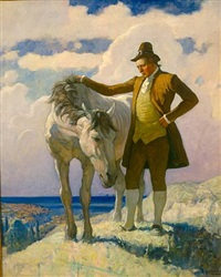 sir nat and the horse by newell convers wyeth