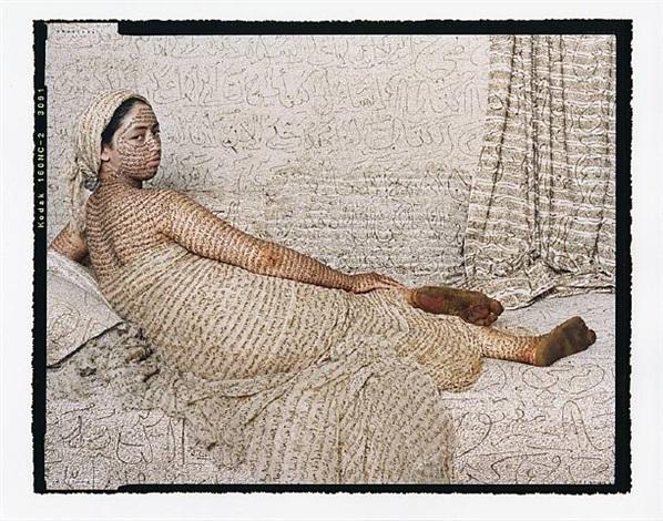 les femmes du maroc: the grande odalisque by lalla essaydi