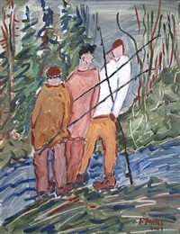 3 fishermen by rose basile