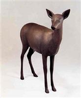 obihiro spirit deer i by gwynn murrill