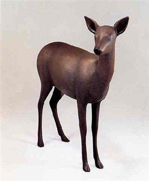 obihiro spirit deer i by gwynn murrill