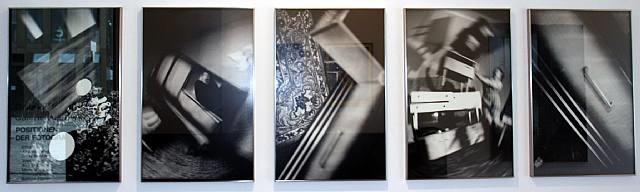 5 teilige sequenz aus: im wahnzimmer by anna and bernhard blume