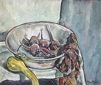 still life with beets by bror julius olsson nordfeldt
