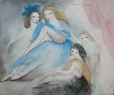untitled by marie laurencin