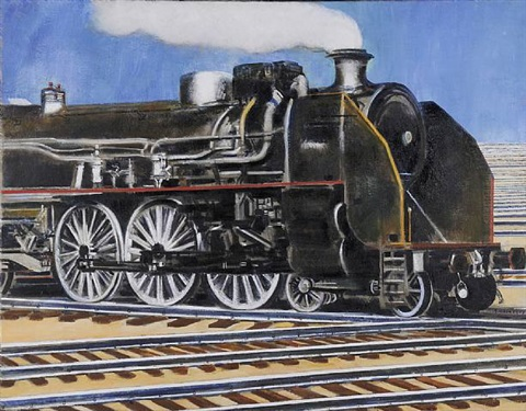 locomotive by emile salkin