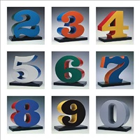 one through zero by robert indiana