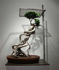 bonsai-no.44 by shen shaomin