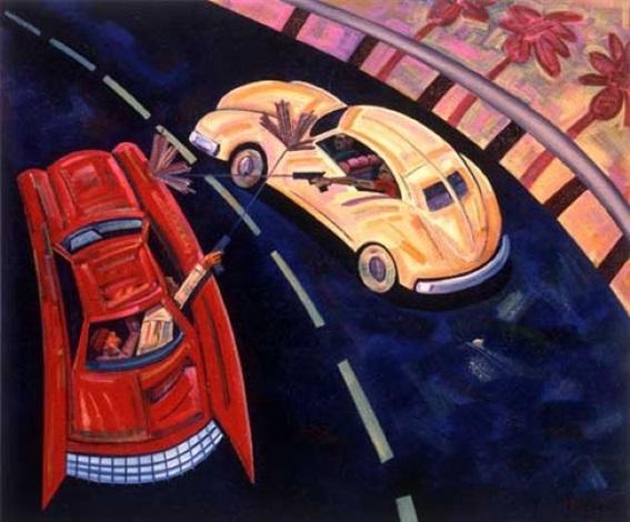freeway wars by frank romero