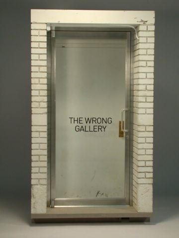 the wrong gallery by maurizio cattelan