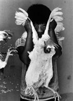 el gallo, juchitán by graciela iturbide