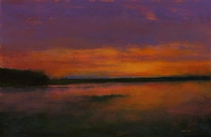 setting sun by john smith (sold)