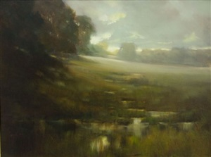 morning haze by robert watkins (sold)