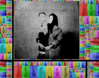black vs colourayyam gallery dubai by ammar al-beik
