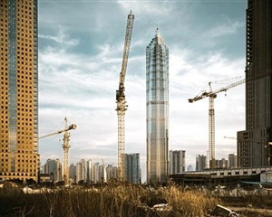 new construction, shanghai, china by stephen wilkes