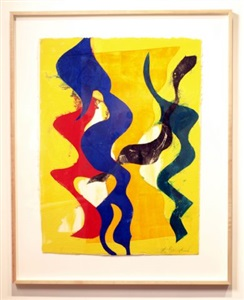 lynda benglis as printmaker a 30-year retrospective of editions and monotypes by lynda benglis