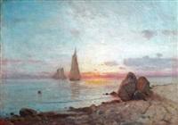new england coast by lemuel d. eldred