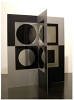 image-miroir by victor vasarely