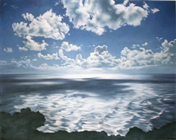 cloud, shadow, sea by april gornik